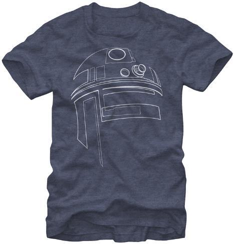 Star Wars-Simple R2D2 Camiseta