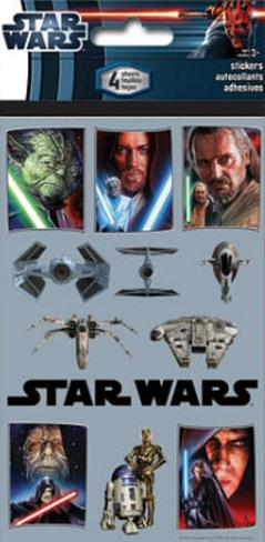 Star Wars Stickers Stickers