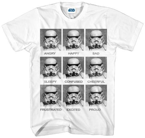 Star Wars- Stormtrooper Today I Am Camiseta