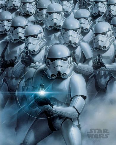Star Wars - Stormtroopers Mini Poster
