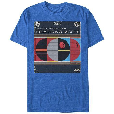 Star Wars- That's No Moon Album Jacket Camiseta