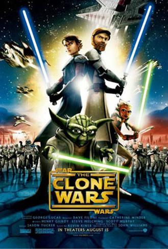 Star Wars: The Clone Wars Double-sided poster