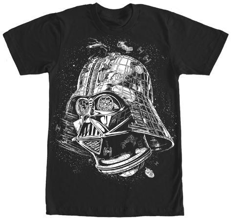 Star Wars- The Darth Star Camiseta