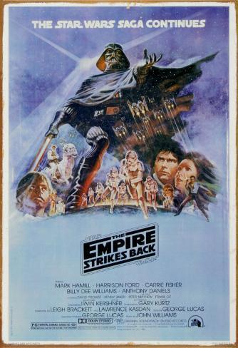 Star Wars - The Empire Strikes Back Tin Sign