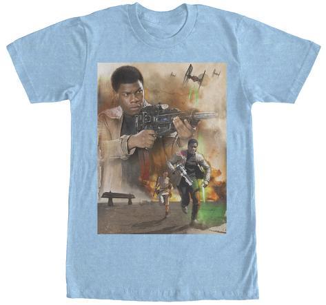 Star Wars The Force Awakens- Action Finn Camiseta