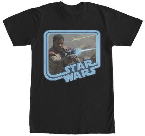 Star Wars The Force Awakens- Battling Finn T-Shirt