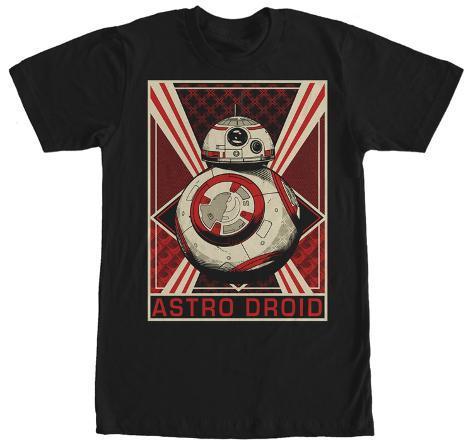 Star Wars The Force Awakens- BB-8 Astro Droid Camiseta