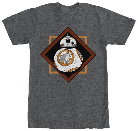 Star Wars The Force Awakens- BB-8 Heroic Droid Camiseta