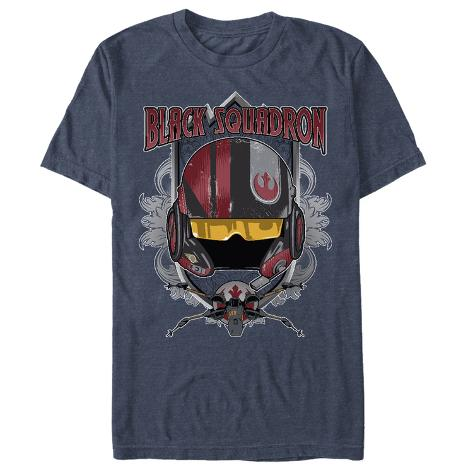 Star Wars The Force Awakens- Black Squadron Leader Camiseta