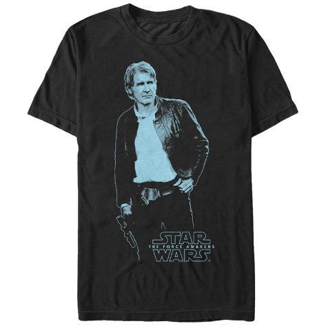 Star Wars: The Force Awakens- Blue Han Camiseta