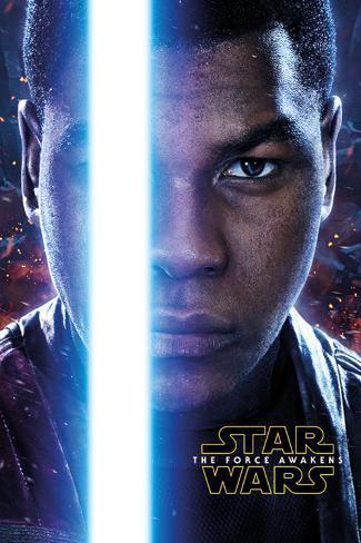 Star Wars The Force Awakens- Finn Teaser Poster