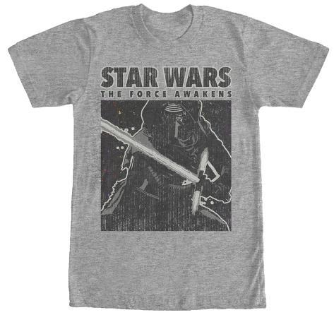 Star Wars The Force Awakens- Kylo Ren Dark Sider Camiseta
