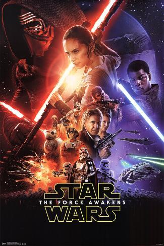 Star Wars: The Force Awakens- One Sheet Pôster