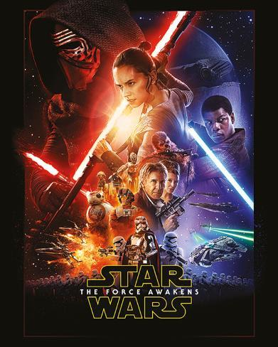 Star Wars The Force Awakens- One Sheet Mini poster