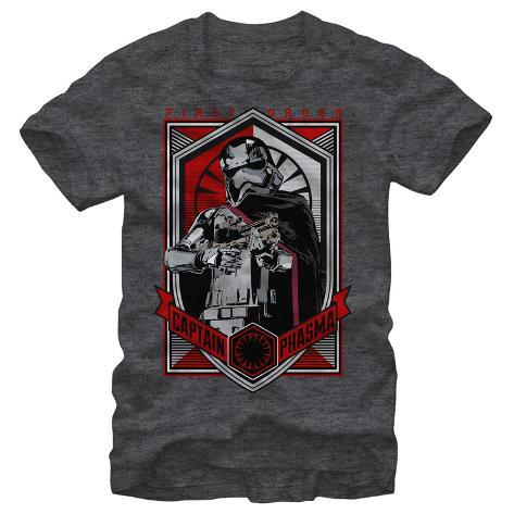 Star Wars The Force Awakens- Phasma Badge T-Shirt