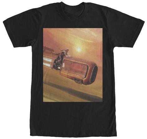 Star Wars The Force Awakens- Rey Desert Speeder T-Shirt