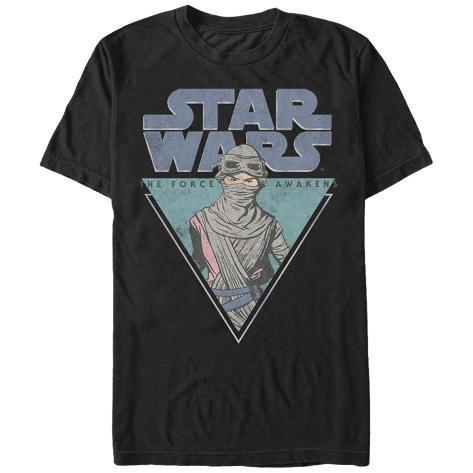 Star Wars: The Force Awakens- Rey Triangle Badge Camiseta