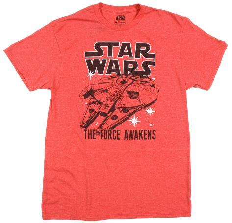 Star Wars The Force Awakens- Twice Camiseta