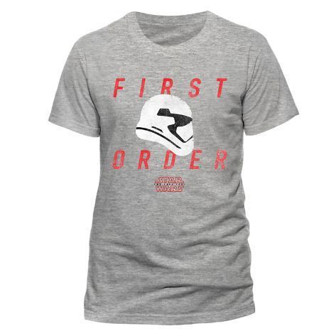 Star Wars: The Last Jedi - First Order Trooper Profile T-Shirt