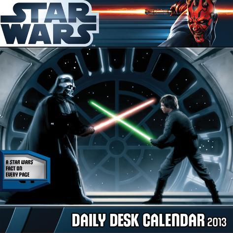 Star Wars: The Saga - 2013 Daily Desk Calendar Calendar Calendars