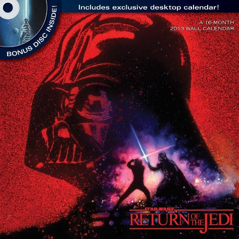 Star Wars: The Saga - 2013 DVD Calendar Calendars
