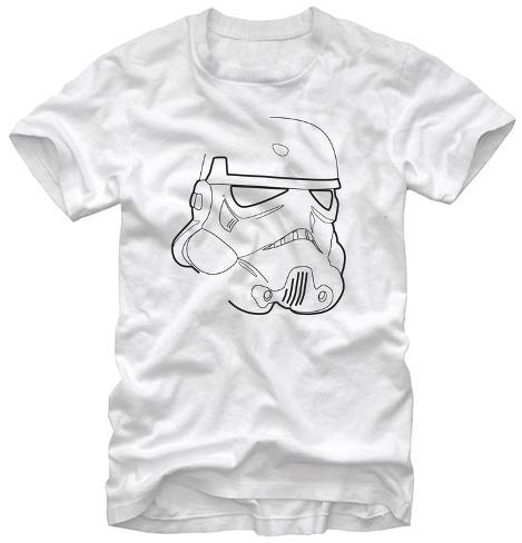 Star Wars- Trooper Outline Camiseta