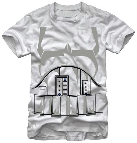 Star Wars- Trooper Uniform Costume Tee T-Shirt