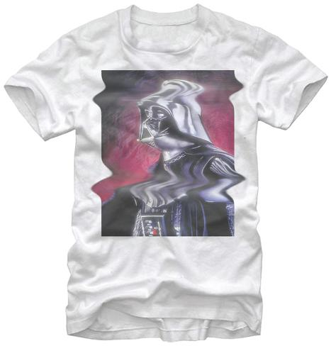 Star Wars- Vader Distortion Camiseta