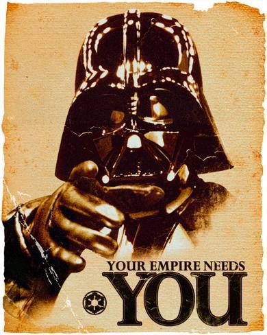 Star Wars Vader Needs You Mini Poster