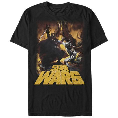 Star Wars- Vader Vs Boba Camiseta