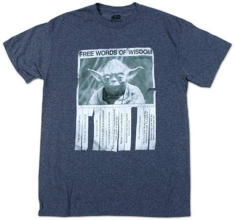 Star Wars - Words Of Wisdom T-Shirt