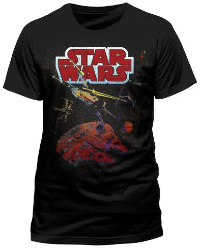 Star Wars - Xwing Gradient T-Shirt