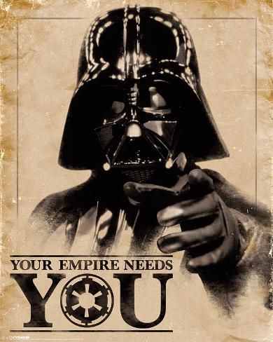 Star Wars- Your Empire Needs You Mini poster