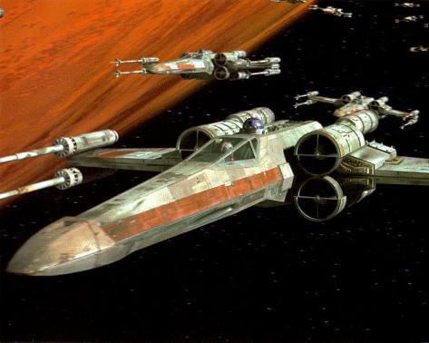 Star Wars Poster Card