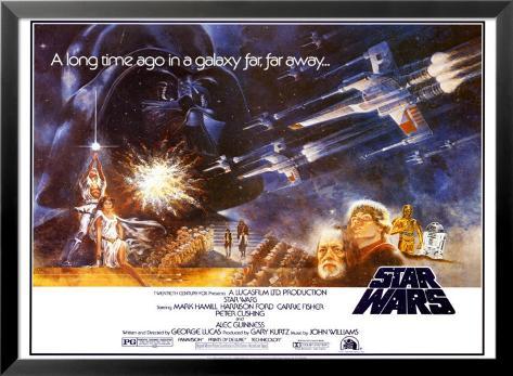 Star Wars Lamina Framed Poster