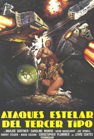 Starcrash - Spanish Style Poster
