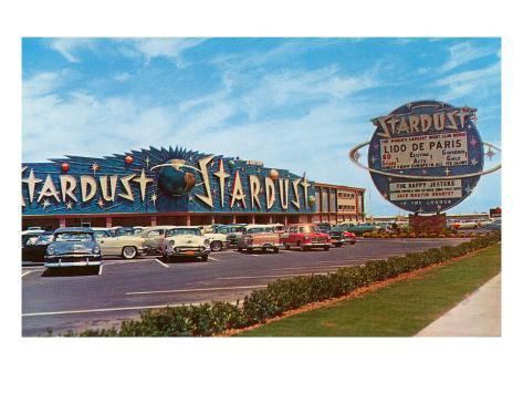 Stardust Hotel, Las Vegas, Nevada Konstprint