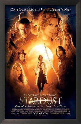 Stardust: O Mistério da Estrela Impressão artística emoldurada