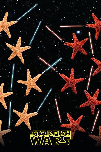 Starfish Wars Poster