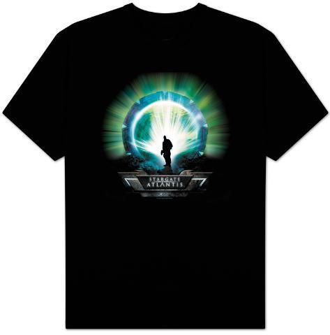 Stargate Atlantis-Coming Through T-Shirt