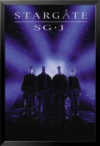 Stargate SG-1 Lamina Framed Poster