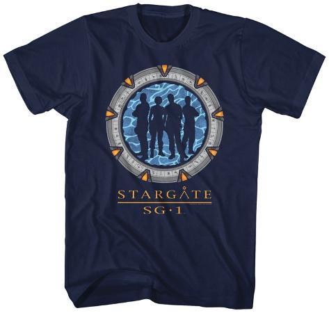 Stargate- Silhouette Gate T-Shirt