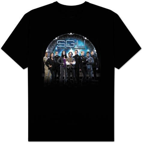 Stargate Universe-Destiny Gate T-Shirt