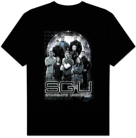 Stargate Universe-StargateU Cast T-Shirt