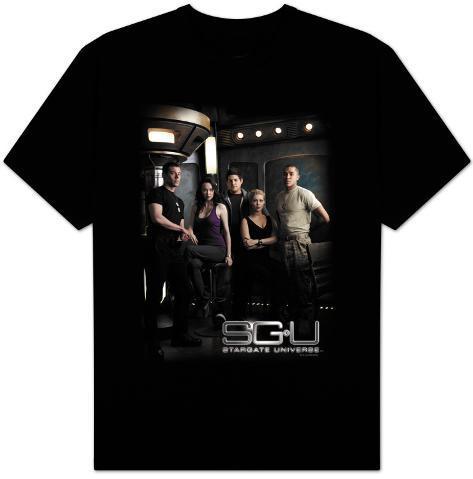 Stargate Universe-Universe Cast T-Shirt