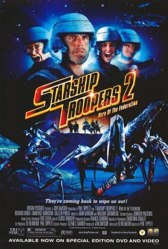 Starship Troopers 2 Poster