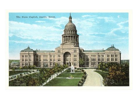 State Capitol, Austin, Texas Art Print