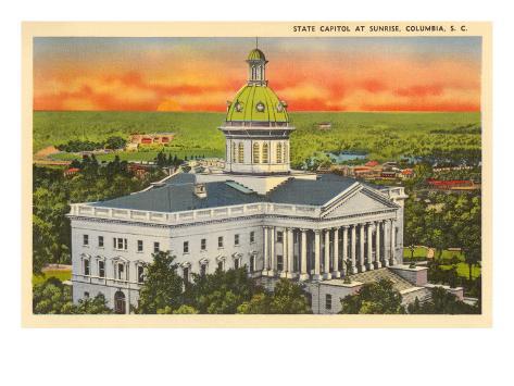 State Capitol, Columbia, South Carolina Art Print