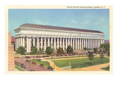 State Education Building, Albany, New York Art Print