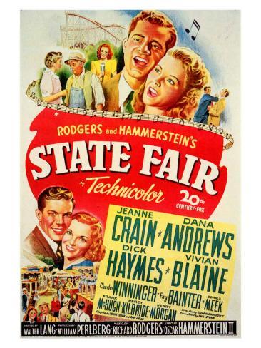 State Fair, 1945 Art Print